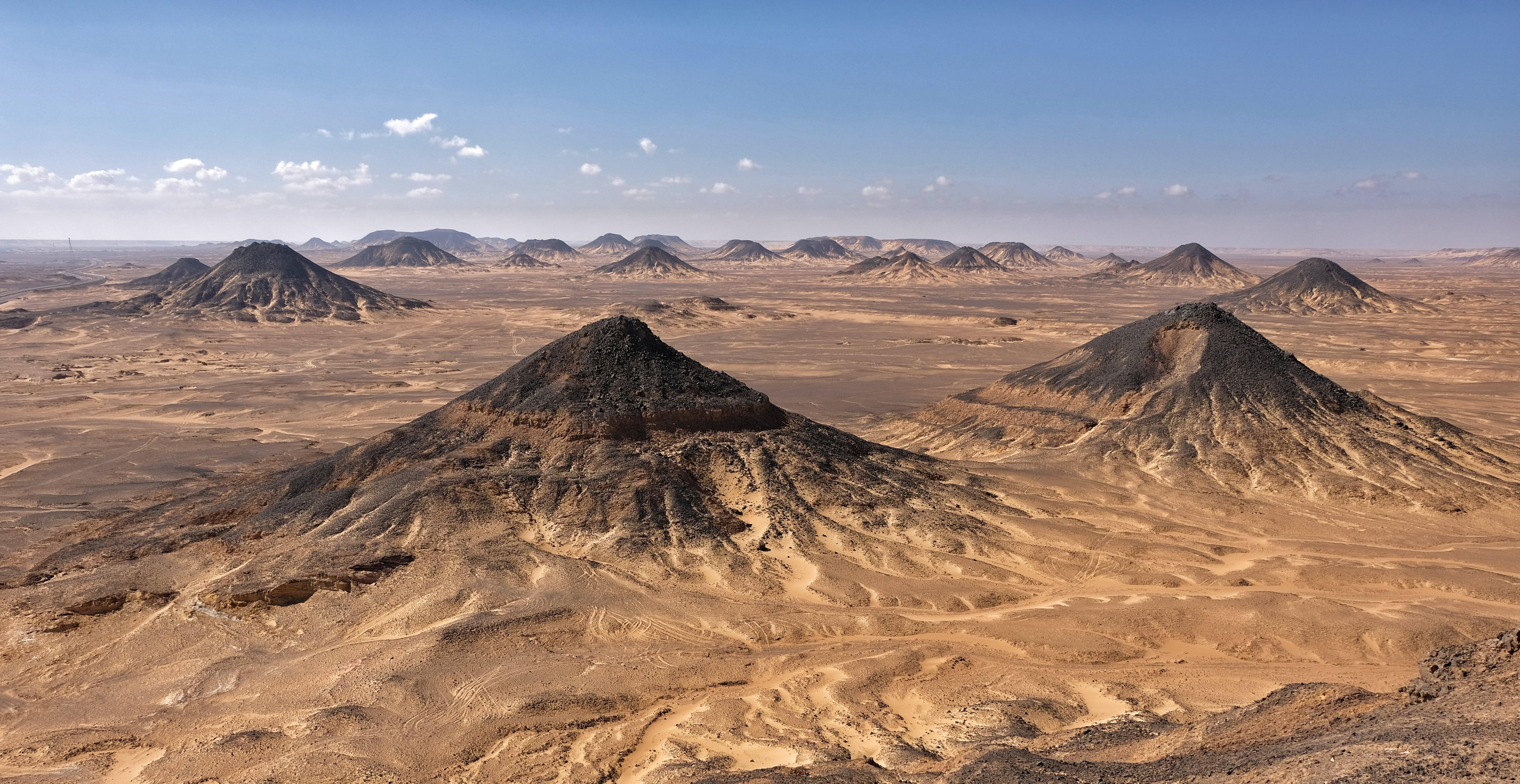 Deserto in Bianco e Nero