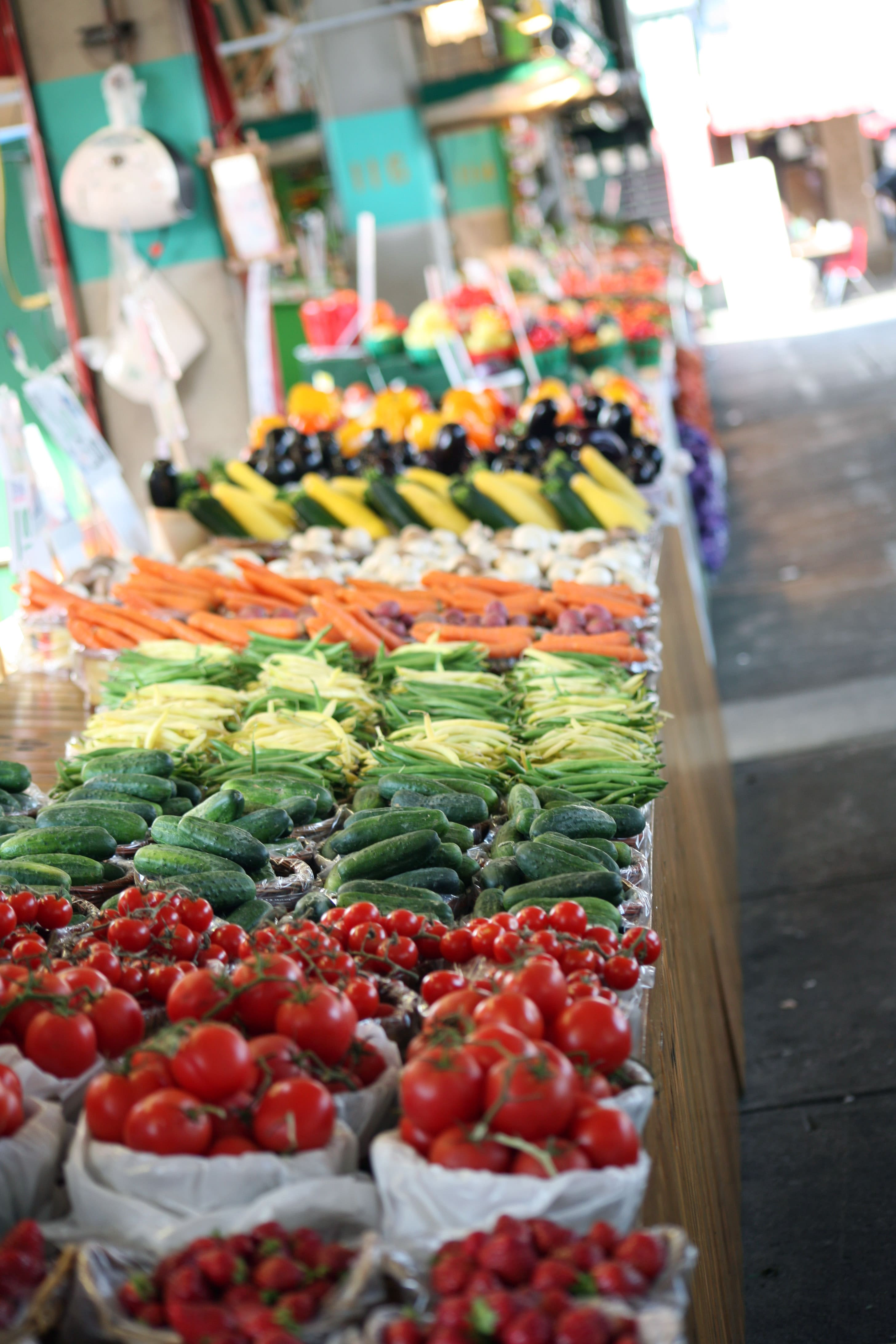 Jean Talon Covered Market veggies-min